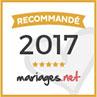 Récommandé par Mariages.net 2017