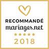 Récommandé par Mariages.net 2018