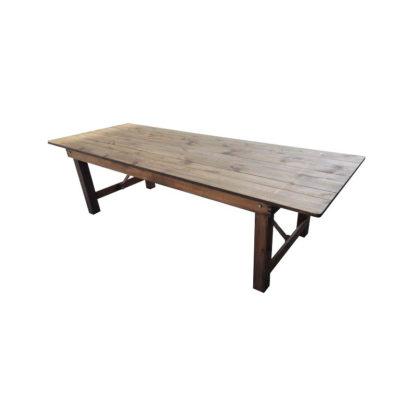 Table héritage en bois