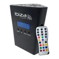 Projecteur led sur batteries ibiza