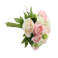 Bouquet de renoncule pinck/cream