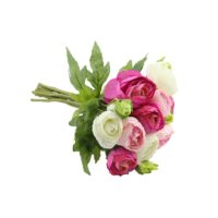 Bouquet de renoncule pinck/fushia