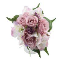 Bouquet hortensia lilas
