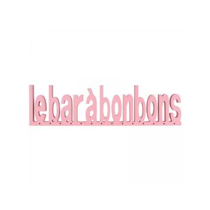 """Lettres """"bar à bonbon"""""""