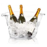 Seau a champagne plexi
