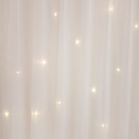Location rideau lumineux blanc