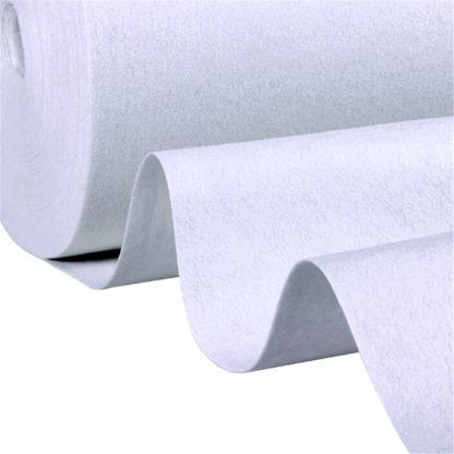 Tapis blanc largeur 2m