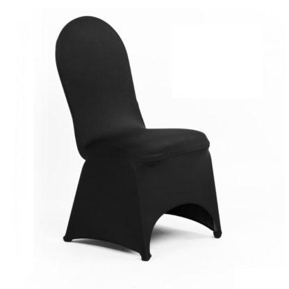 Housse de chaise Lycra - Noire