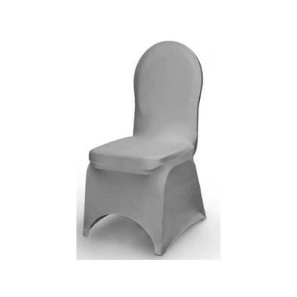 Location housse de chaise Lycra - Gris
