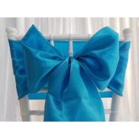 Nœud de chaise Satin - Turquoise