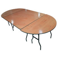 Table ovale 14 personnes