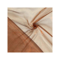 Chemin de table Organza - Chocolat
