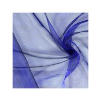 Chemin de table Organza - Bleu roi