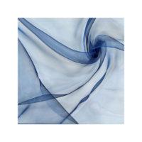 Chemin de table Organza - Bleu marine