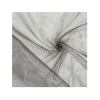 Chemin de table Organza - Gris argent