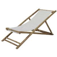 Chaise longue bambou