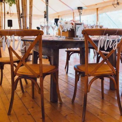 Location chaise bistrot en bois Rémy