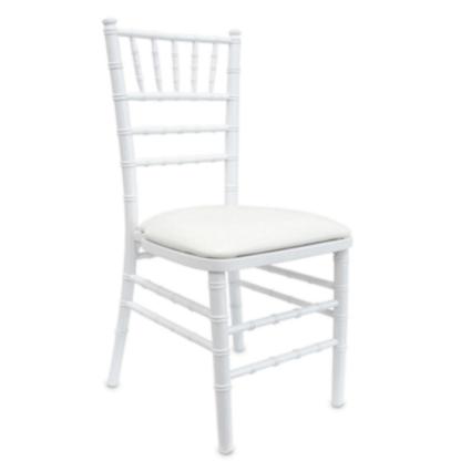Chaise chivari blanche