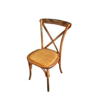 Chaise bistrot en bois Rémy