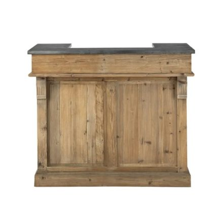 Bar en bois brut