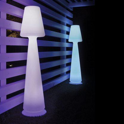 Lampe sur pied LED RGB MONACIS