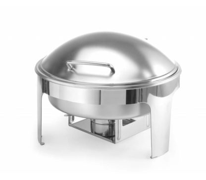 Location chafing dish rond - inox 6 Litres