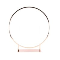 Location cercle centre de table - Gold/rose D80cm