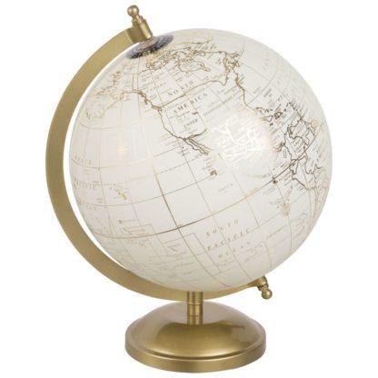 Location globe terrestre décoratif