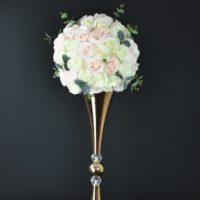 """Boule de fleurs """"Romance"""" D35/40cm"""