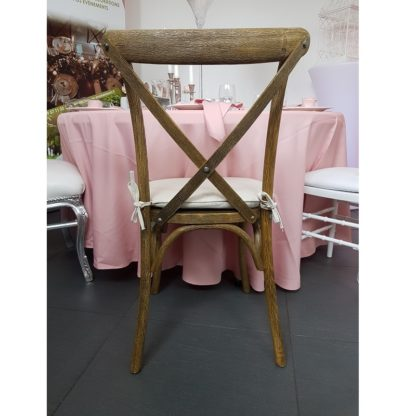 Location chaise bistrot champêtre (en bois vieillit )