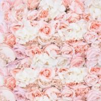 "Mur Floral ROSE ""Inspirée"""