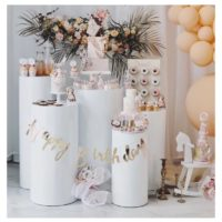 Location table buffet Candy bar