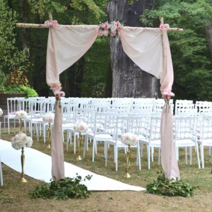 Location arche de cérémonie en bouleau