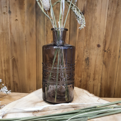 Location Fiole / Mini vase Ethnic marron