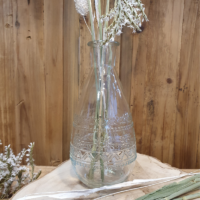 Location Fiole / Mini vase Ethnic transparent