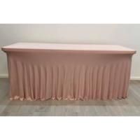 Location juponnage lycra -Vieux rose/Nude
