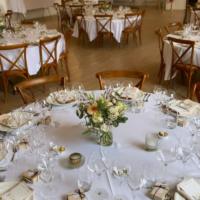 Location table ronde 152cm (6 à 8 personnes)