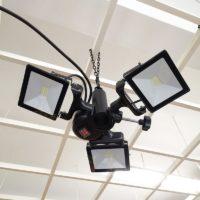 Location 3 lampes led pour tonnelle et tente de réception